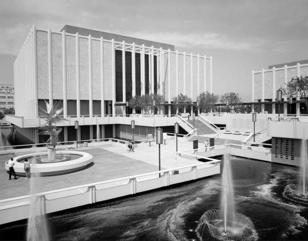 exterior view of the 1965 campus by William Pereira