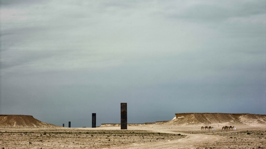Richard Serra, East-West/West-East, Image via Qatar Museum Authority