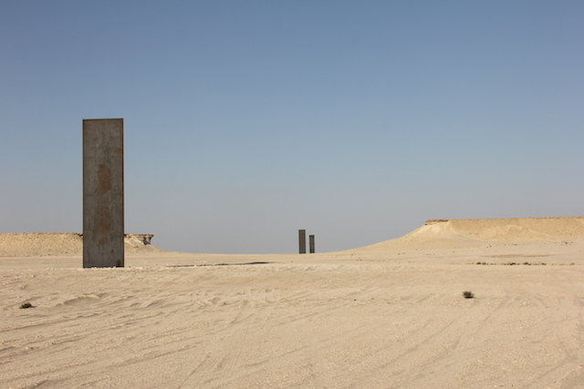 Richard Serra, East-West/West-East, photograph by Molly Waterman for Hyperallergic