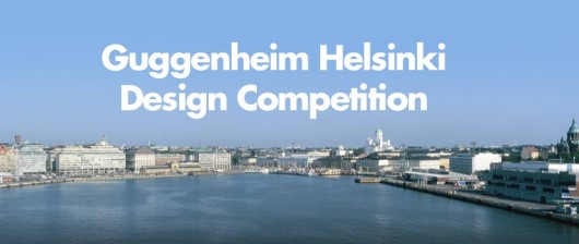 Guggenheim Helsinki design competition, view of Helsinki's waterfront; image via ArchDaily