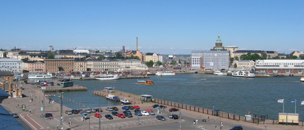 Helsinki's Eteläsatama, site of the proposed Guggenheim development; photograph by Ralf Roletschek via Wikimedia Commons