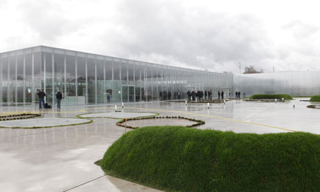 Louvre-Lens, designed by SANAA and Imrey Culbert; photograph by Pascal Rossignol for Reuters