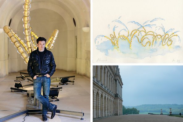 Jean-Michel Othoniel at Versailles
