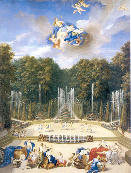 Water Theater grove, ca. 1693