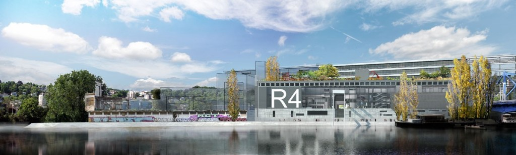 North elevation of R4, R4 application for planning permission dossier, © Ateliers Jean Nouvel