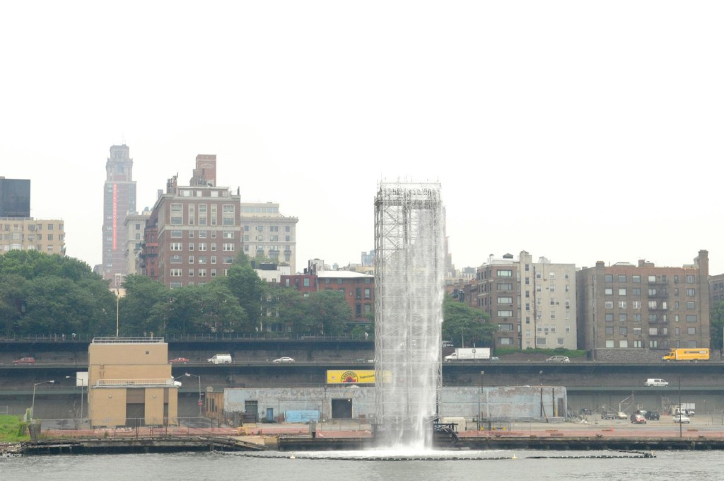 Ólafur Elíasson, The New York City Waterfalls, 2008