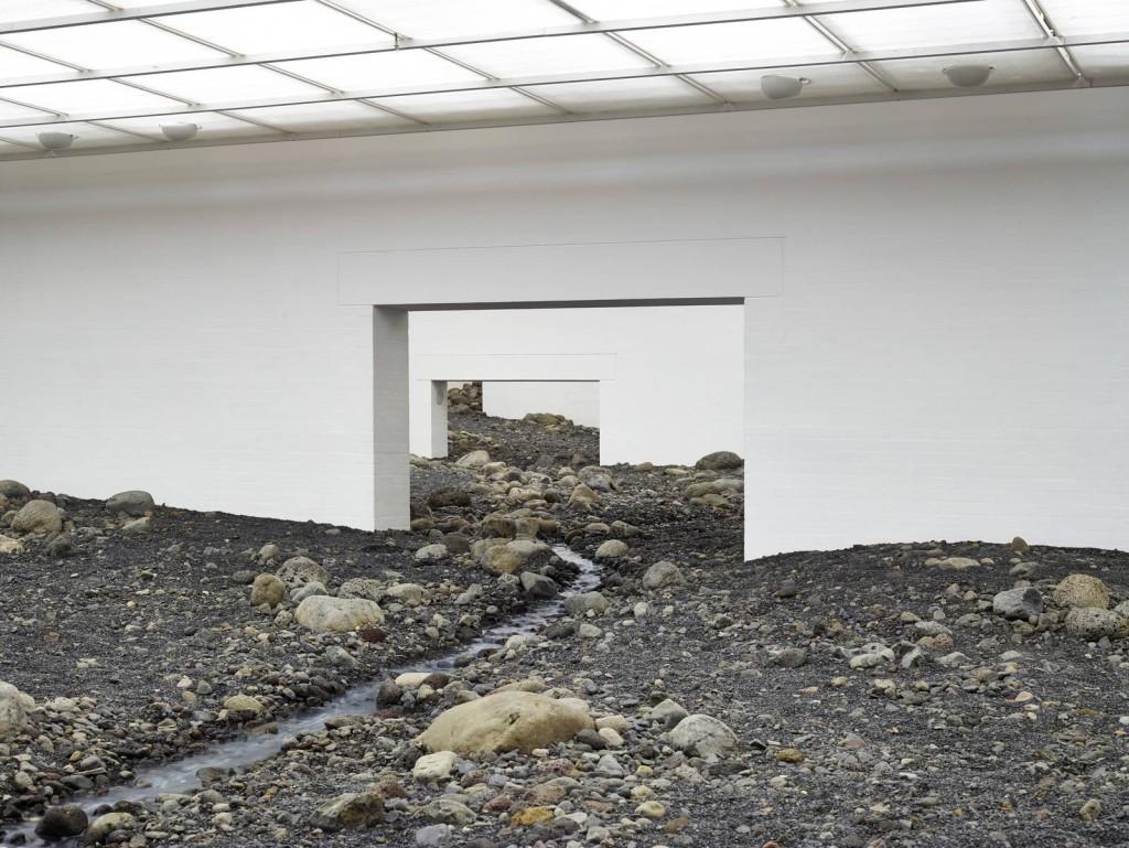Ólafur Elíasson, Riverbed, 2014