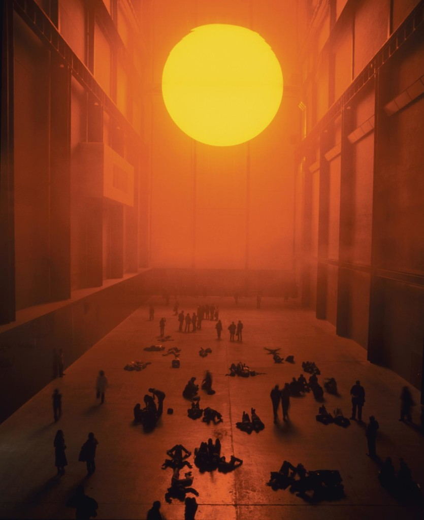 Ólafur Elíasson, The Weather Project, 2003