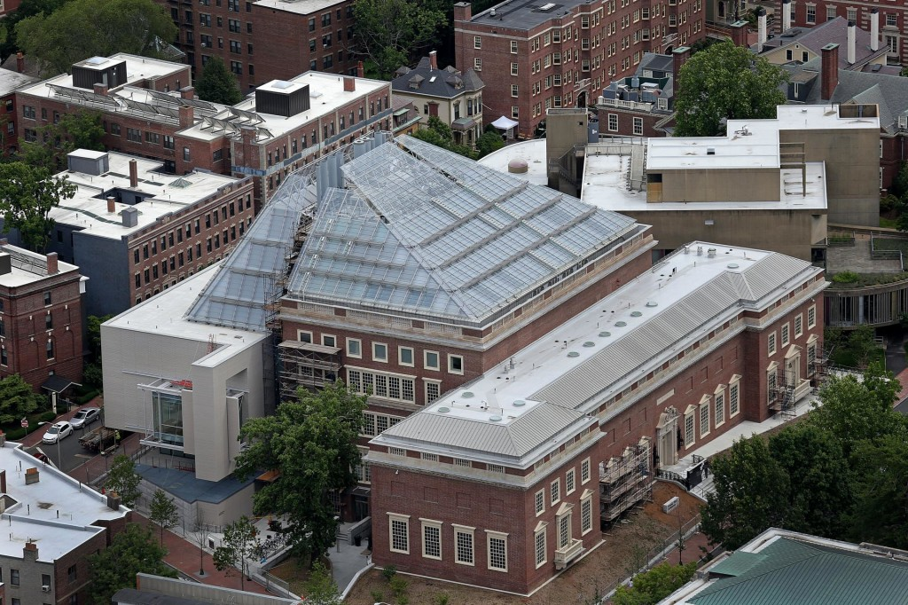 external view of the Harvard Art Museums; image by David L. Ryan for the Boston Globe