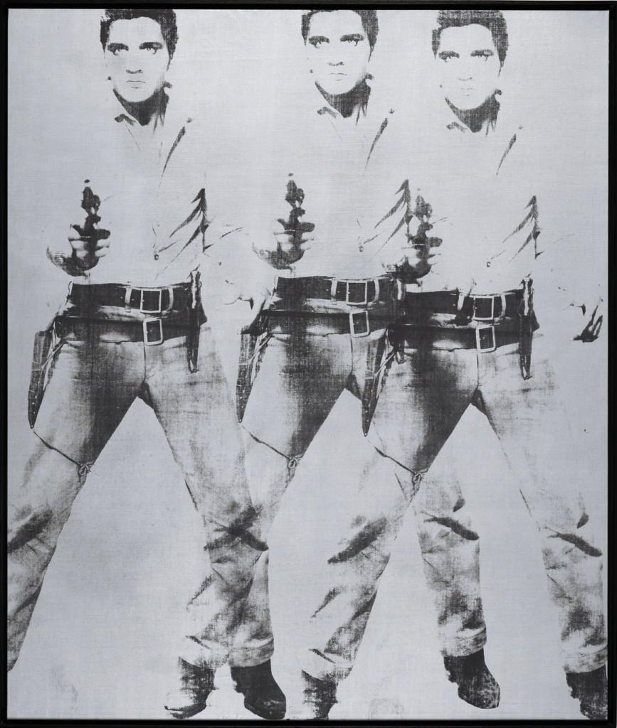 Andy Warhol, Triple Elvis