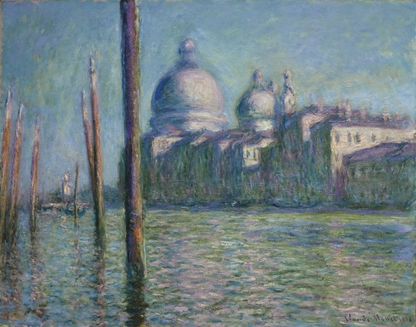 Claude Monet, Le Grand Canal, 1908; image courtesy of Sotheby's