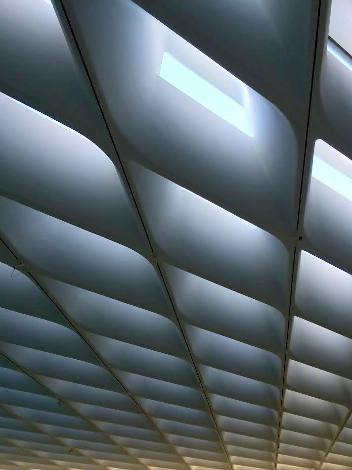 Skylight detail at The Broad on February 15, 2015; image © codylee.co