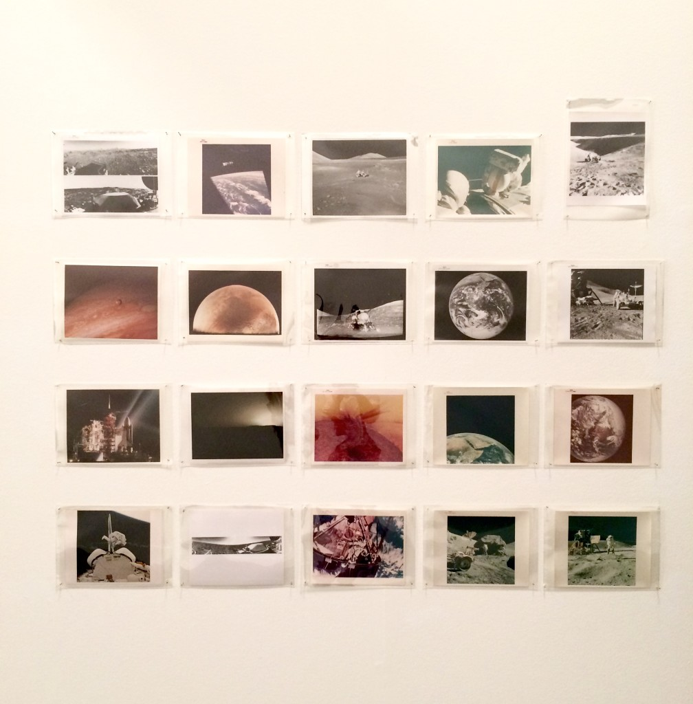 NASA archive, Breese Little, installation view at Paris Photo Los Angeles, 2015; image © codylee.co