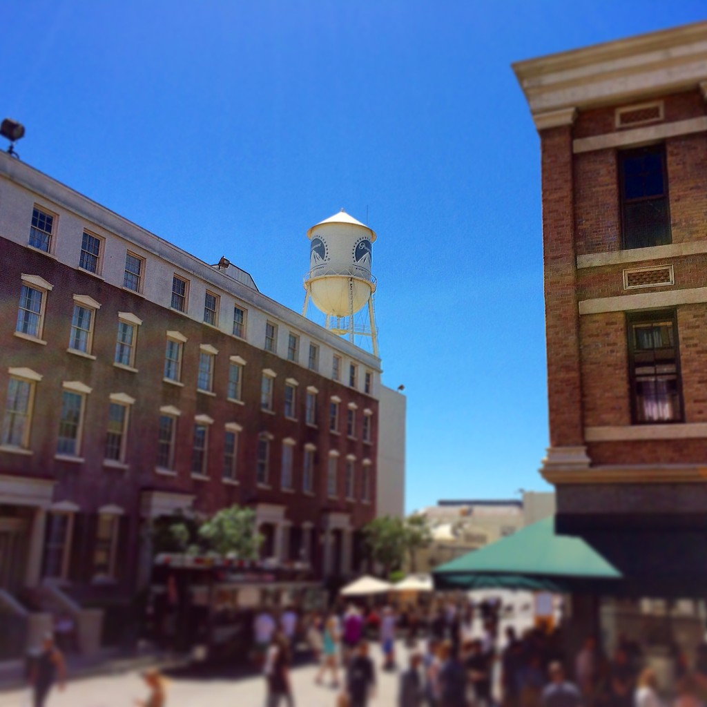 The New York backlot at Paramount Pictures Studios in Hollywood; Paris Photo Los Angeles, 2015; image © codylee.co