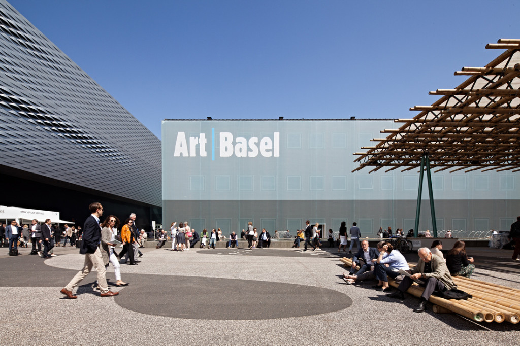 Art Basel in Basel 2015; photo by Alec Bastian for Artsy
