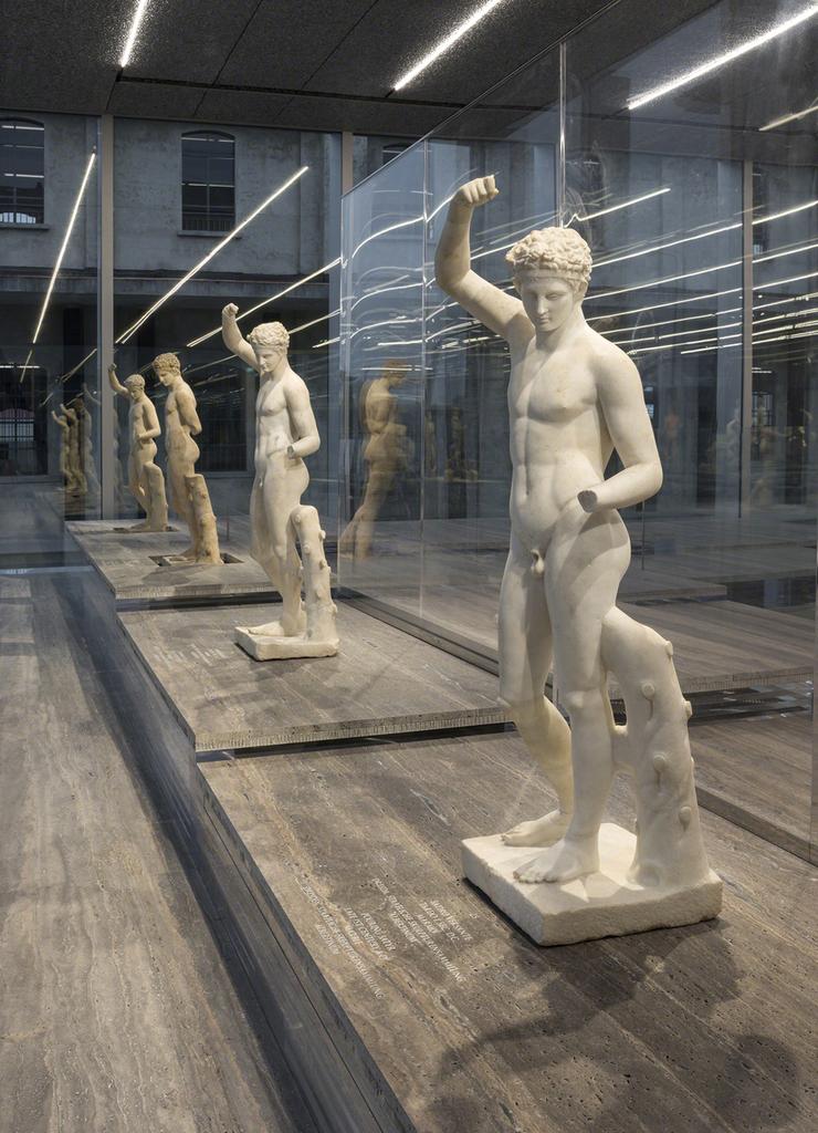 Serial Classic installation view at Fondazione Prada, Milan; photo by Attilio Maranzano, courtesy of Fondazione Prada