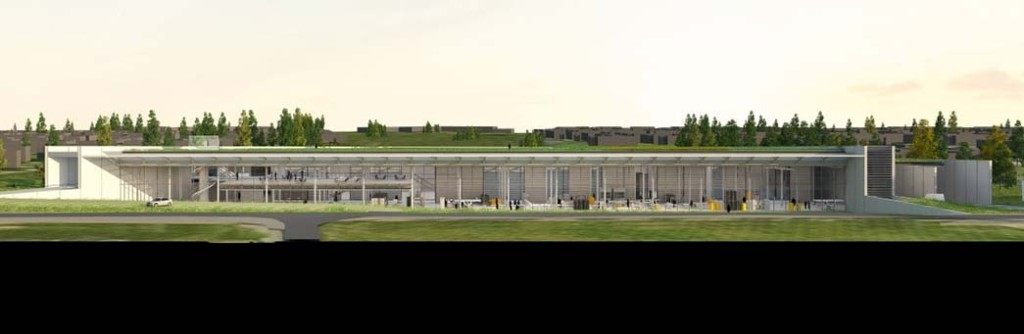 rendering of the Louvre project in Liévin; image © Rogers Stirk Harbour + Partners