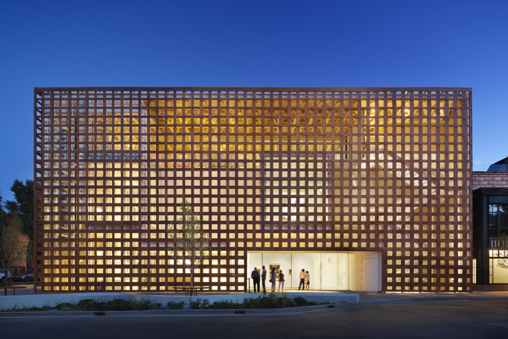 Aspen Art Museum, designed by Shigeru Ban Architects; photo © Michael Moran / OTTO