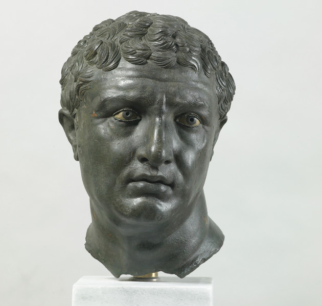 Portrait of a Man, about 100 BC; bronze, copper, glass, and stone; The Hellenic Ministry of Culture, Education and Religious Affairs; The National Archaeological Museum, Athens; photo: Maurie Mauzy / Art Resource, NY