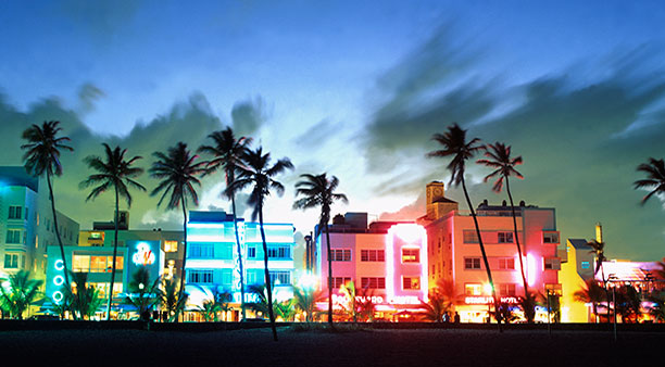 Miami Beach; image via Greater Miami Convention & Visitors Bureau