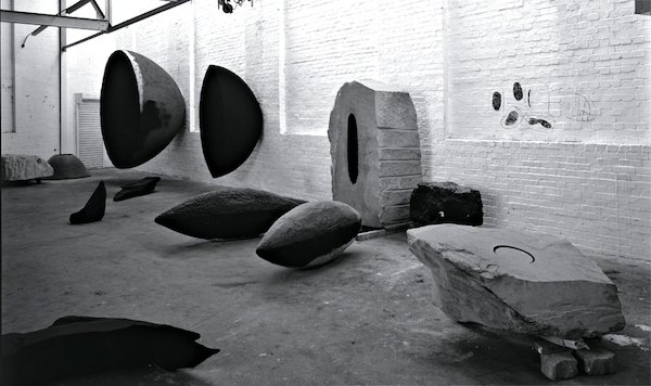 Anish Kapoor, The Artist's Studio (1995), London; image via Phaidon