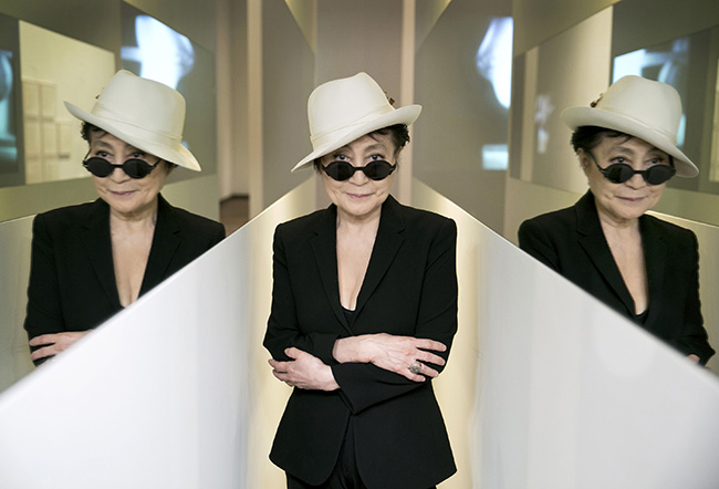Yoko Ono in En Trance, 1997; Half-A-Wind Show, Louisiana Museum of Modern Art, 2013; photo by Bjarke Ørsted © Yoko Ono
