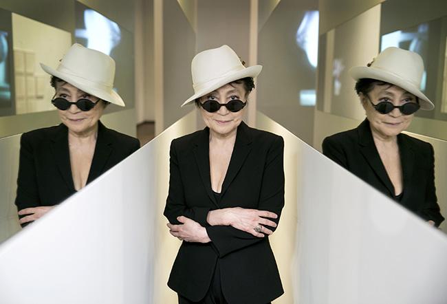 Yoko Ono in En Trance, 1997; Half-A-Wind Show, Louisiana Museum of Modern Art, 2013; photo by Bjarke Ørsted © Yoko Ono