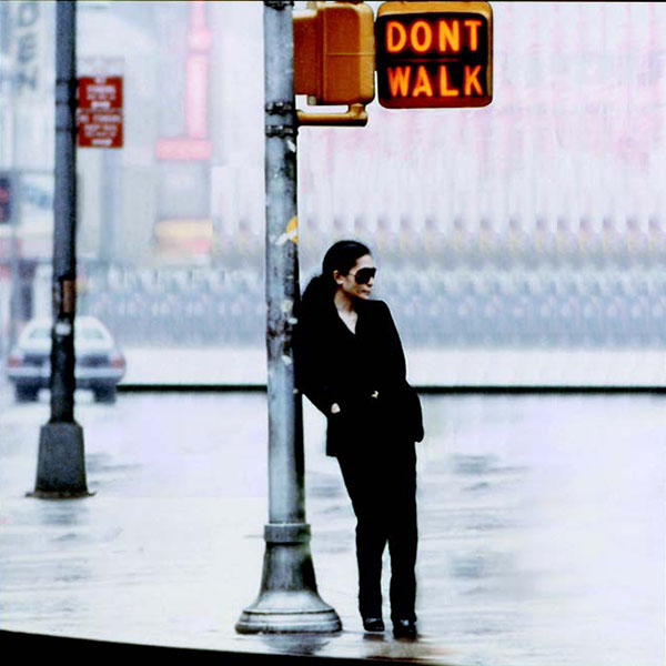 Yoko Ono, Walking on Thin Ice, 1981; film still; photo by Allan Tannenbaum © Yoko Ono