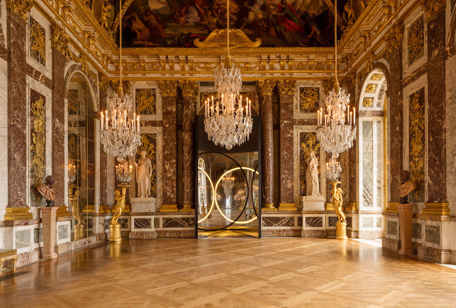 Ólafur Elíasson, Your Sense of Unity, 2016; installation view at the Château de Versailles; photo by Anders Sune Berg, © Ólafur Elíasson