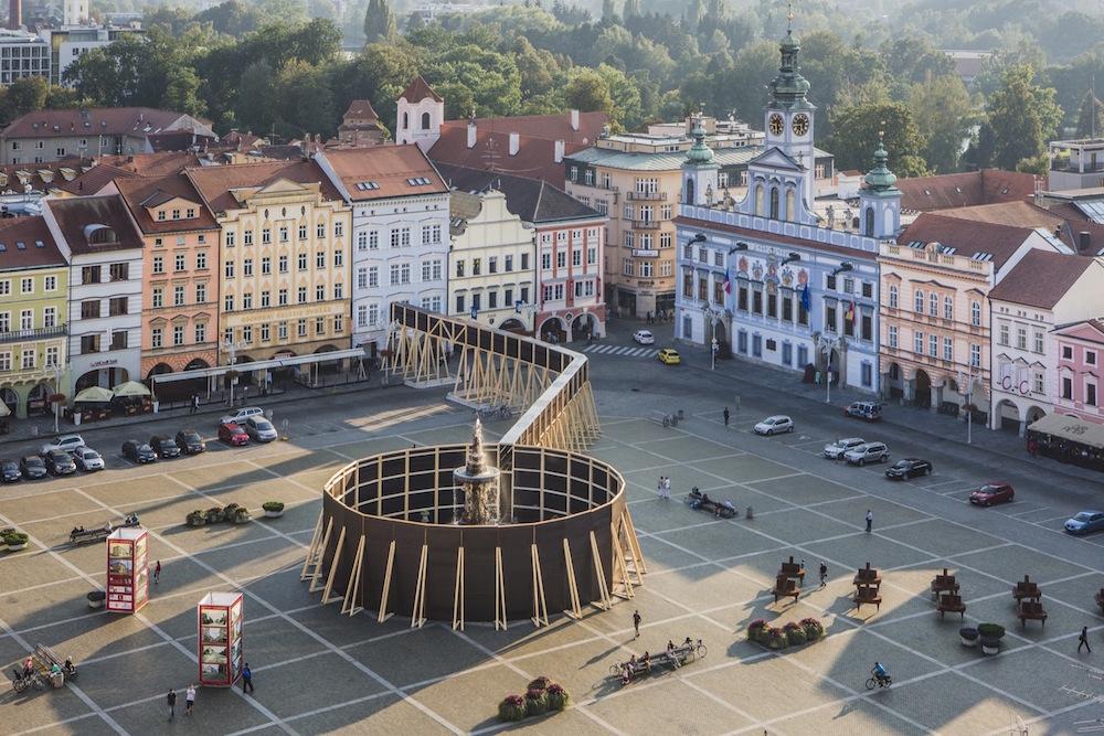 Jan Šépka, Perception, České Budějovice, Czech Republic, 2016; photo © Tomas Maly