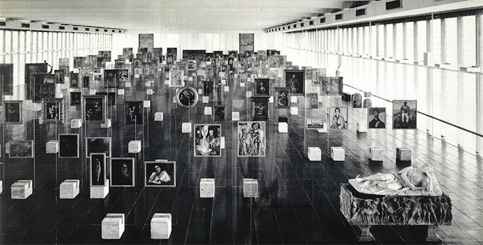 MASP c. 1968; photo © Museu de Arte de São Paulo Assis Chateaubriand - MASP
