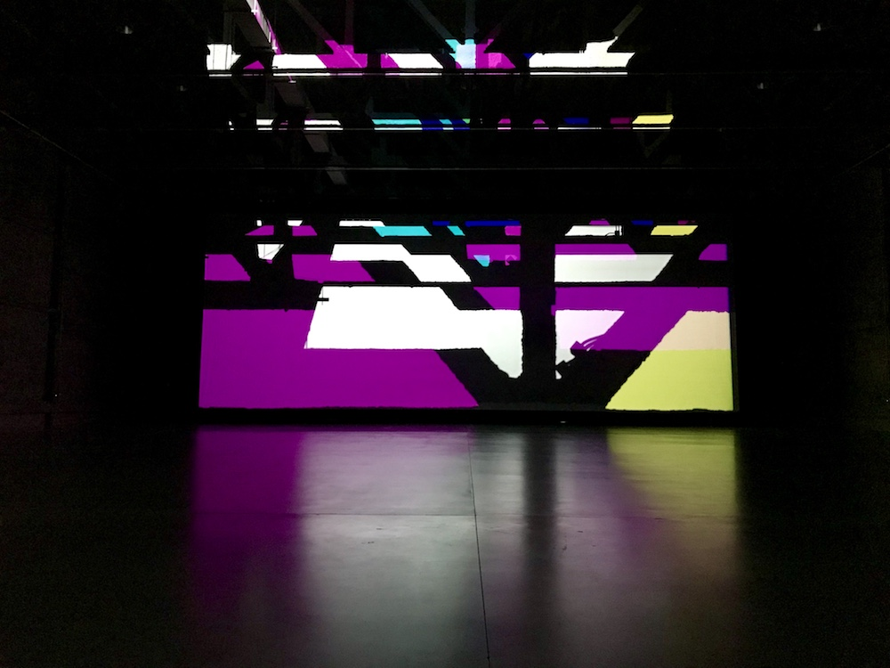 Ólafur Elíasson, Reality Projector, 2018; Installation view at the Marciano Art Foundation, Los Angeles; photo © codylee.co