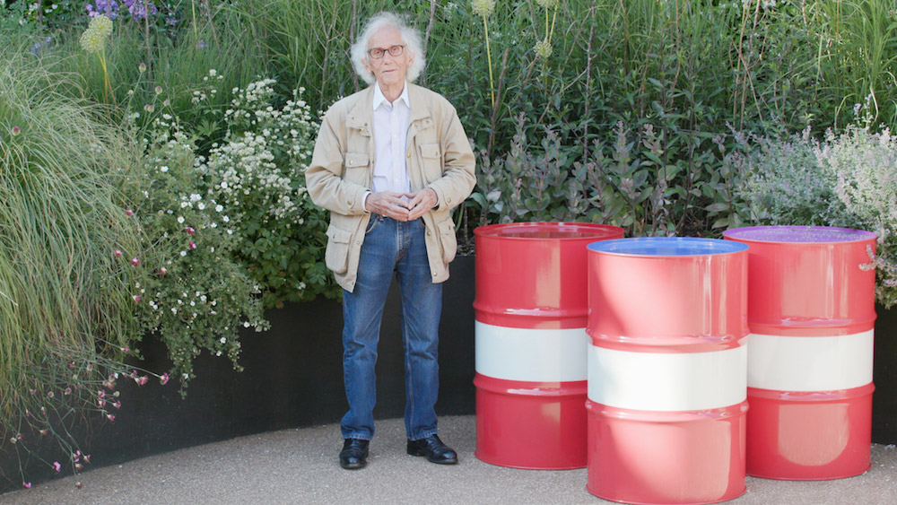 Christo, London, 2018, photo by Wolfgang Volz