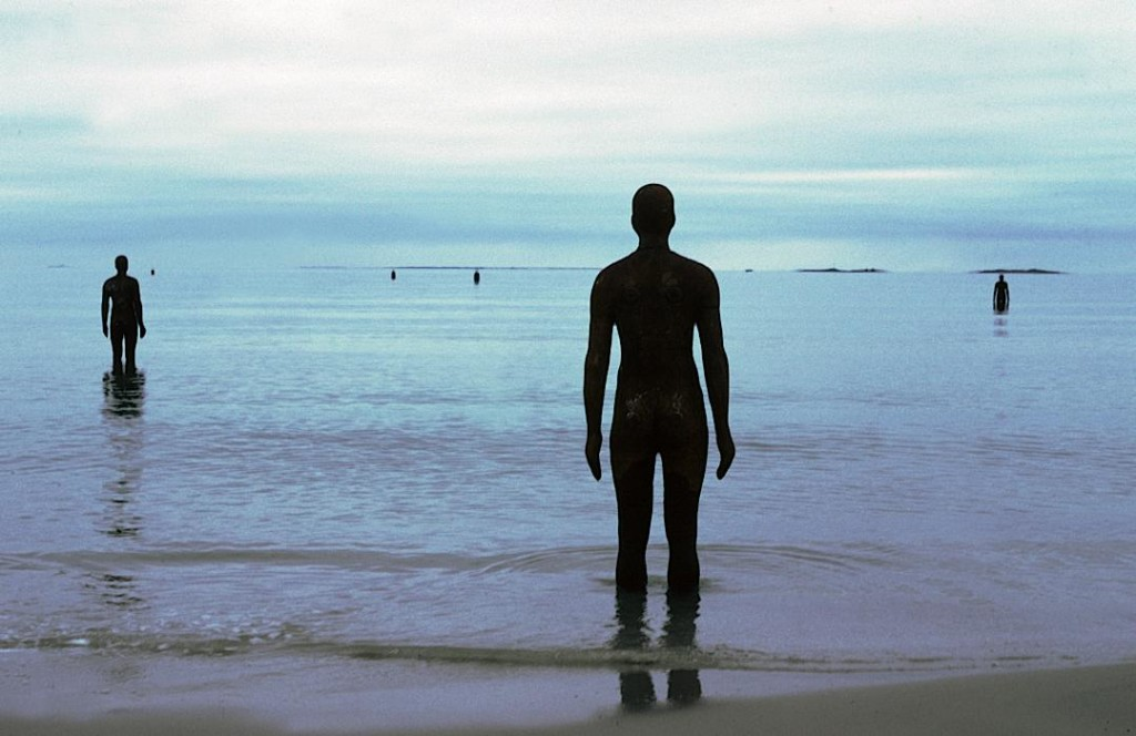 Antony Gormley, ANOTHER PLACE, 1997, image © Antony Gormley